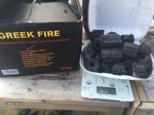 Greek Fire-brikett